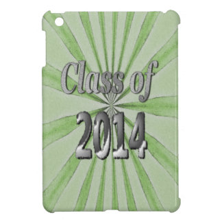 Class of 2014 Green and Silver Cover For The iPad Mini