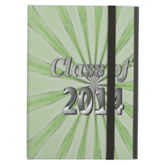 Class of 2014 Green and Silver iPad Air Cases