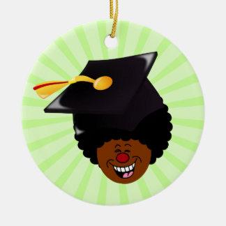 Class of 2016 Graduation Tassel Hassle Round Ceramic Decoration