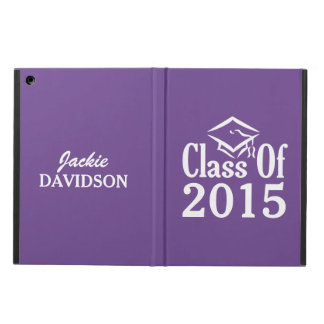 Class of ANY year custom text & color cases Case For iPad Air