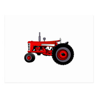 Classic Tractor Postcard