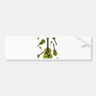Classical guitar 04.jpg bumper sticker