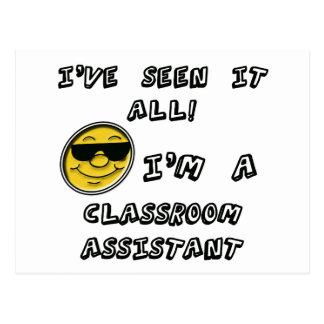 Classroom Assistant Postcard