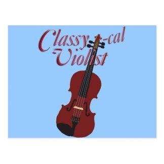 Classy-cal Violist Postcard