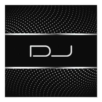 Classy DJ Invitation