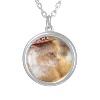 Claude Italian Style Round Pendant Necklace