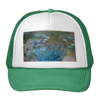 Claude Monet: Irises and Water Lilies Cap