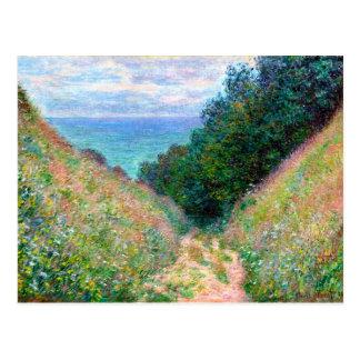 Claude Monet: Path at La Cavee Pourville Postcard