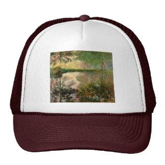 Claude Monet: The Pond at Montgeron Cap