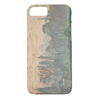Claude Monet - Winter Landscape with Evening Sky iPhone 7 Case