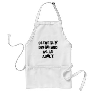 Cleverly Disguised As An Adult Grandpa Gift Standard Apron