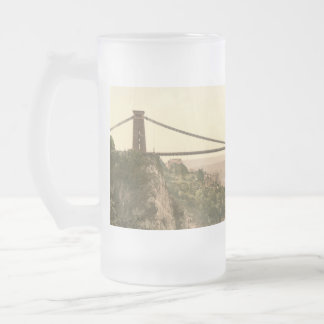Clifton Suspension Bridge II, Bristol, England Frosted Glass Mug