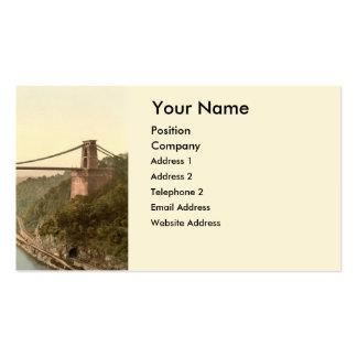 Clifton Suspension Bridge II, Bristol, England Pack Of Standard Business Cards