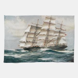 Clipper Ship Torrens Towel