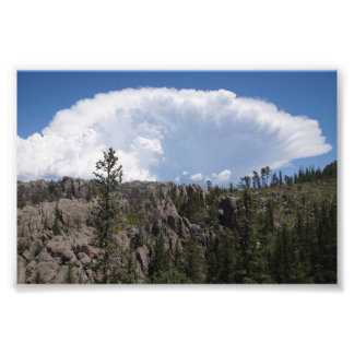 Clouds over the Black Hills Photograph