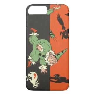 Clown Dog Black Cat Skeleton Scared iPhone 7 Plus Case