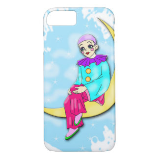 Clown on the moon Iphone case. iPhone 7 Case