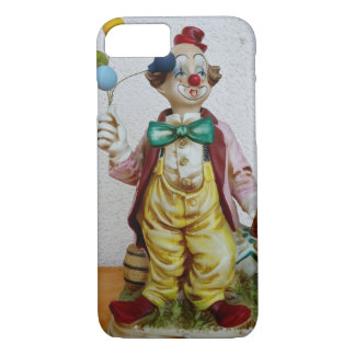 Clown with balloons iPhone 7 case