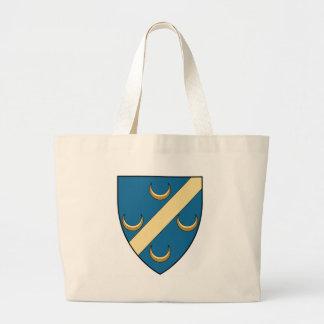 Coa_Algeria_Town_Hussein_Dey_(French_Algeria) Jumbo Tote Bag