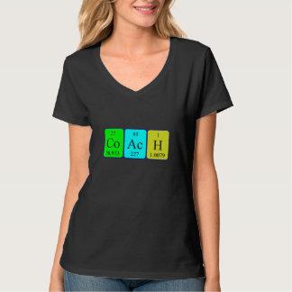 Coach periodic table name shirt