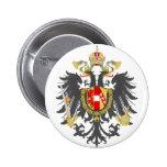 Coat of Arms of Austrian Empire 6 Cm Round Badge