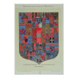 Coat of Arms of the Austro-Hungarian Empire Poster