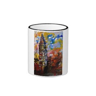 CobaltMoonDesign Art Mug - Big Ben Strikes Ten