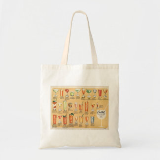 Cocktail Menu, Tote Bag