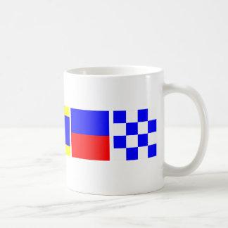 Code Flag Caden Basic White Mug