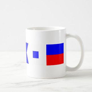 Code Flag Chase Basic White Mug