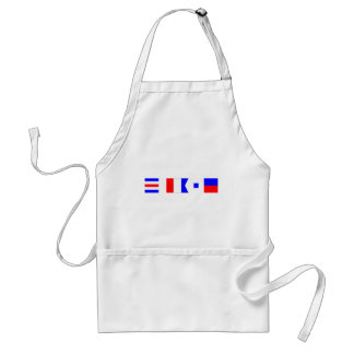 Code Flag Chase Standard Apron