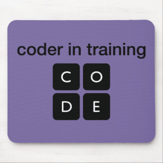 Coder In Training Mouse Pad