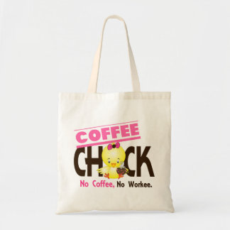 Coffee Chick 2 Budget Tote Bag