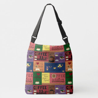 Coffee Collage Tote Bag