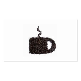 Coffee Modern Java Elegant Card Cup Mug Trendy Pack Of Standard Business Cards