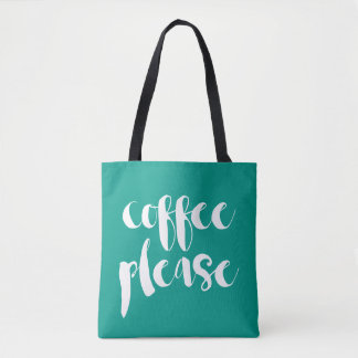 Coffee Please Tote Bag