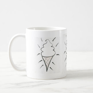 Cold indulgence basic white mug