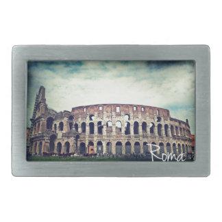 Coliseum Rectangular Belt Buckles