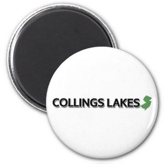 Collings Lakes, New Jersey 6 Cm Round Magnet