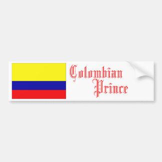 Colombian Prince, Bumper Sticker