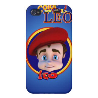 Color with Leo iPhone 4 Case- Midnight Blue Cases For iPhone 4