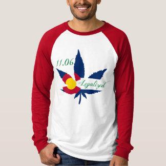 Colorado legalized Pot T Shirts