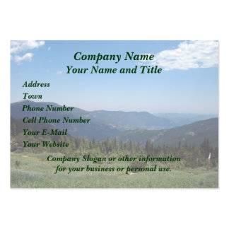 Colorado Rocky Mountains Panorama Pack Of Chubby Business Cards