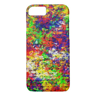 Colorful Abstract Chaotic Pattern iPhone 7 Case