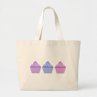 Colorful Cupcakes Jumbo Tote Bag