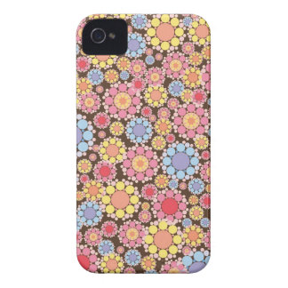 Colorful Flower Floral Pattern iPhone 4 CaseMate Case-Mate iPhone 4 Cases