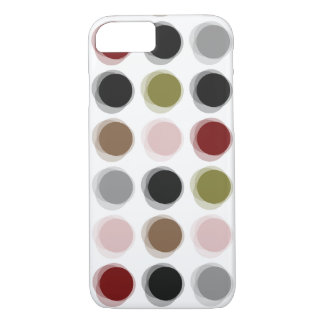 Colorful Pattern Fuzzy Dots iPhone CaseMate iPhone 7 Case