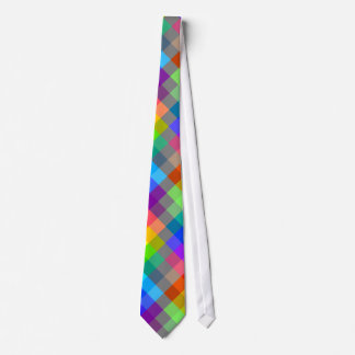 Colorful pattern. Rainbow Colors. Tie