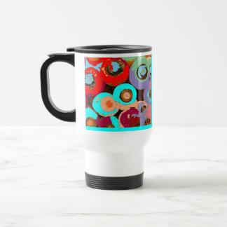 Colorful Personalized Travel Mug
