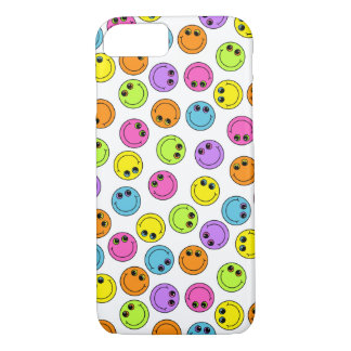 Colorful Smiley Faces iPhone 7 Case